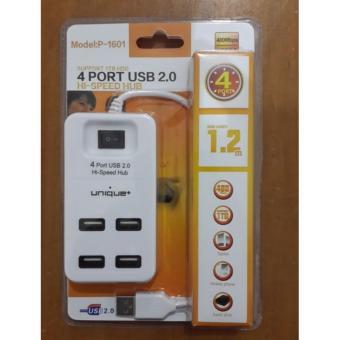 Jual Unique USb HUB 2.0 4-Port Hi Speed Support 1TB HDD P-1601 Harga Termurah Rp 75000.00. Beli Sekarang dan Dapatkan Diskonnya.