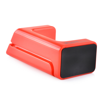 ZUNCLE Portable HQT-431 Rechargeable Stand for Apple Watch(Red)