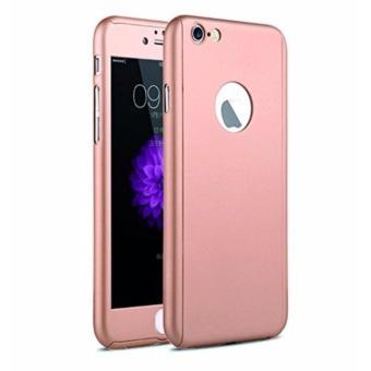 Harga Terbaru Hardcase Case 360 Iphone 6+/6 Plus Casing Full Body Cover -