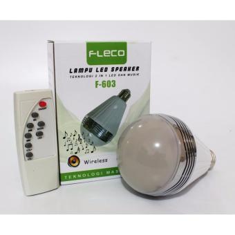 harga BigBos Store Speaker Bluetooth Lampu FLECO F-603 Disco Remote Wireless Lazada.co.id