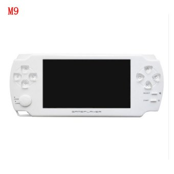 harga 2016 New 4.3 Inch Ultra-Thin Touch Screen Handheld Game Console 8G Built In Memory Portable Video Games Console MP3 MP5 Music Player For Kids Adults (White) Lazada.co.id
