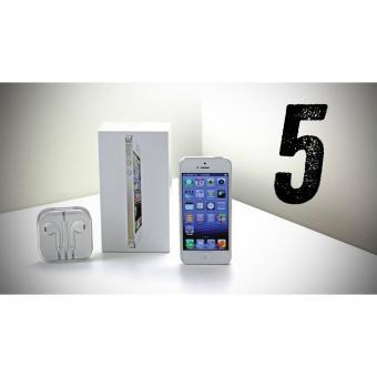 Jual Apple iPhone 5 White - 32GB - RAM 1GB - GARANSI 2 TAHUN Harga Termurah Rp 3900000.00. Beli Sekarang dan Dapatkan Diskonnya.