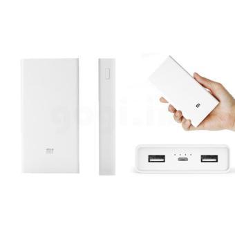 Jual Power Bank Xiaomi2 Fast Charging 20000Mah Original-White Harga Termurah Rp 468000.00. Beli Sekarang dan Dapatkan Diskonnya.