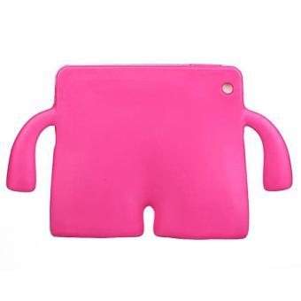 Portable Multi-functional Kids Thick Foam EVA Protective Cover Mini Anti-drop Flat Bracket for Samsung tab 3/4 7.0' (Magenta) - intl