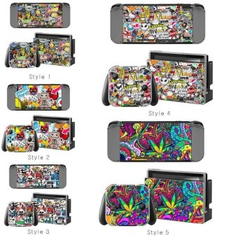 NEW Decal Skin Sticker AntiDust PVC Protector For Nintendo Switch Console ZY-Switch-0135 - intl