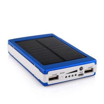 Jual Powerbank Solar Charger 100000mah - Biru Harga Termurah Rp 275000.00. Beli Sekarang dan Dapatkan Diskonnya.