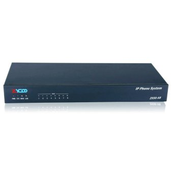 Zycoo IP PABX / IP PBX ZX50-A844 For 100 IP Extension SIP dan 4 Ext Analog + 4 CO Line PSTN