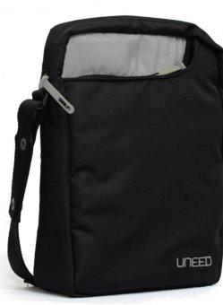 harga Uneed Combat Tas Slempang Messenger for Tablet /NetBook 10- Hitam Lazada.co.id