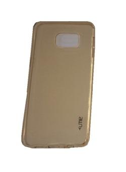 Ume Samsung Galaxy S6 Edge+ / Samsung Galaxy S6 Edge Plus / Samsung S6 Edge+ / Samsung Note 5 Edge Ultrathin / Silikon Samsung S6 Edge Plus / Silicone / Ultra Thin - Coklat Transparan