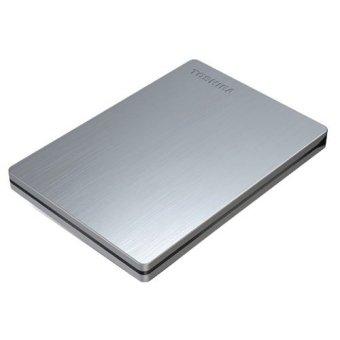Jual Harddisk External Toshiba Canvio Slim II 1 TB for Mac & Windows - Silver Harga Termurah Rp 1087800.00. Beli Sekarang dan Dapatkan Diskonnya.