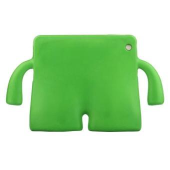 Portable Multi-functional Kids Thick Foam EVA Protective Cover Mini Anti-drop Flat Bracket for Samsung tab 3/4 10.1' (Green) - intl