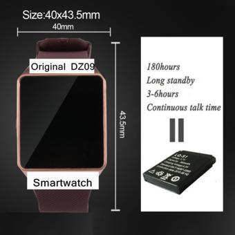 ... Factory Outlet jam pintar DZ09 dengan kamera Bluetooth jam tangan kartu SIM jam pintar untuk Apple