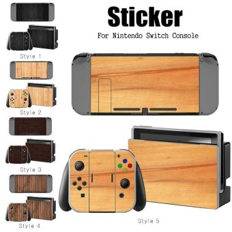 Decal Skin Sticker Dust Protector for Nintendo Switch Console ZY-Switch-0168 - intl