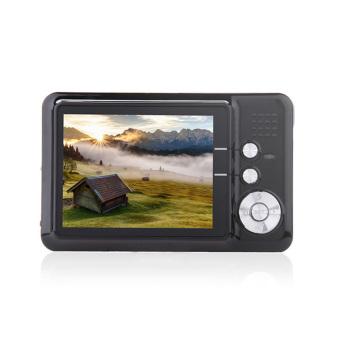 "Amkov CD-FE 2.7\"" TFT 5MP CMOS Wide Angle 8X Digital Zoom Digital Camera w/ SD Slot - Black - intl"