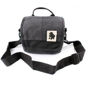 harga Camera Bag Case Canvas Bag for Finepix Fuji Fujifilm X-A2 X-M1 XM1 XT1 X-T1 X-T2 X-E1 XE1 XE2 XA3 X-A1 X-T10 X30 X20 X100 - intl Lazada.co.id