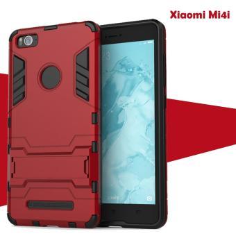 Case Iron Man for Xiaomi Mi4i Robot Transformer Ironman Limited – Merah
