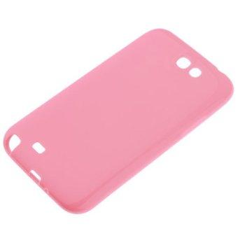 360DSC Wadah silikon lembut untuk Samsung Galaxy Note 7100 - (Berwarna Merah Muda)