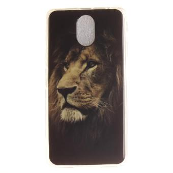 Ultra Fit Soft TPU Phone Back Case Cover For Lenovo Vibe P1m (Lion) .