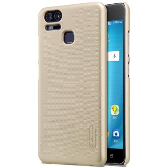 Nillkin Super Frosted Shield with Screen Protector Ultra Thin Hard PC Case Back Cover for Asus Zenfone 3 Zoom ZE553KL (Gold) - intl