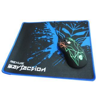 Harga Rexus Gaming Mouse GT3 - 4D Free Mousepad