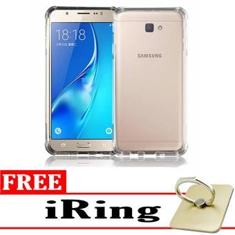 Harga Case Anti Shock / Anti Crack Elegant Softcase for Samsung Galaxy J7 Prime - White