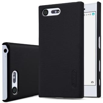 Nillkin Super Frosted Shield with Screen Protector Matte Ultra Thin PC Hard Back Case Cover for Sony Xperia X Compact / X Mini (Black) - intl