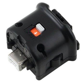 Vococal Motionplus Motion Plus Adapter Sensor for Nintendo Wii Remote Controller Black