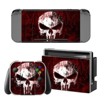 Decal Human skeleton Skin Sticker Dust Protector For Nintendo Switch Console ZY-Switch-0190 - intl