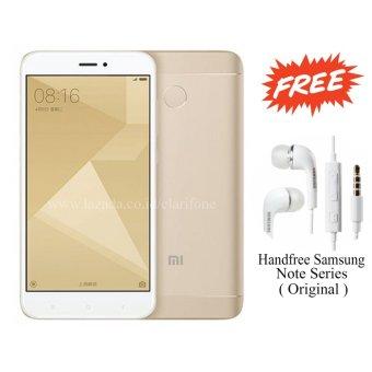 Jual Xiaomi Redmi 4X Prime - Ram 3GB - Rom 32GB - Fingerprint - Gold Harga Termurah Rp 1999000.00. Beli Sekarang dan Dapatkan Diskonnya.