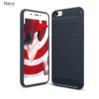 Case For OPPO A57 Slim Carbon Shockproof Hybrid Case Series- Biru Navy