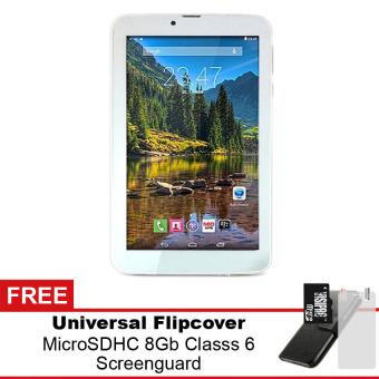 Jual Mito T99 Wifi Tablet - 8GB - Putih + Gratis Micro SDHC 8Gb Class 6 + Flipcover + Screenguard Harga Termurah Rp 777000.00. Beli Sekarang dan Dapatkan Diskonnya.