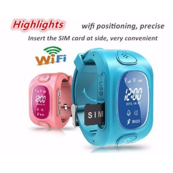 2Cool Children Watch with Phone Call Anti Lose GPS Camera Kids Smart Watch - intl