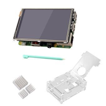 Jual 3.5 inch 320 x 480 Resolution HD Display Touch Screen + Acrylic Protective Case + 3 Aluminum Heat Sinks + Touch Pen for Raspberry Pi 2 3 - intl Harga Termurah Rp 381079.00. Beli Sekarang dan Dapatkan Diskonnya.