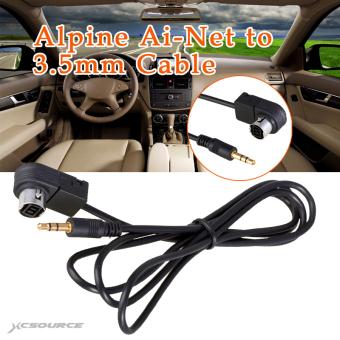 Audio Aux Input Audio Cable Line Car Accessory For Alpine Kca 121b Source · 120 cm