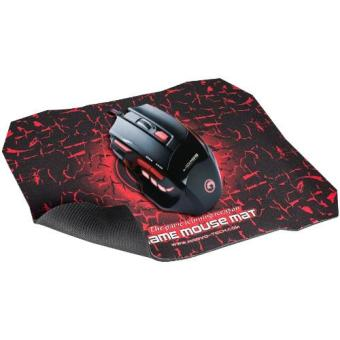 Harga Marvo M315 Gaming Mouse Scorpion 7D + Mouse Pad G1 - Hitam