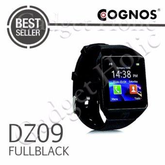 Harga Onix Cognos ZGPAX Smartwatch DZ09 – GSM Sim Card – Strap Karet – FULL Hitam Murah