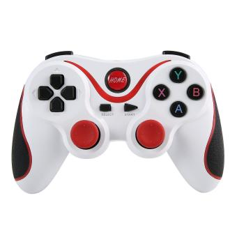 harga niceEshop T3 Gamepad nirkabel Bluetooth game kontroler dengan menangani gunung untuk Android Smartphone Smart TV dan S600 televisi set-top Box tablet (putih) - International Lazada.co.id