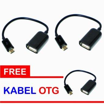 OTG Cable Connect Kit Android 2 PCS + Gratis Kabel OTG 1 PCS. >>>>