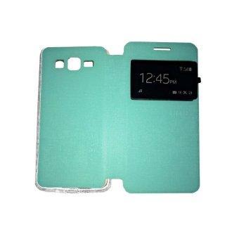 Ume Xiaomi MI 4I / Xiaomi Mi 4i Flip Shell / FlipCover / Leather Case / Sarung HP / View - Hijau Tosca