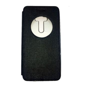 Ume Asus Zenfone Zoom ZX551ML View / Flipshell / Flip Cover / Leather Case / Sarung HP / Sarung Asus Zenfone Zoom - Hitam