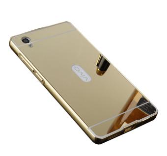 ... Silver Source · Case Metal Vivo Y55 Bumper Mirror Slide Gold Free Usb Otg Micro Source Case for Vivo