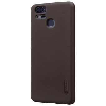 Nillkin Super Frosted Shield with Screen Protector Ultra Thin Hard PC Case Back Cover for Asus Zenfone 3 Zoom ZE553KL (Brown) - intl