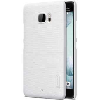 Nillkin Super Frosted Shield with Screen Protector Ultra Thin Hard PC Case Back Cover for HTC U Ultra (White) - intl