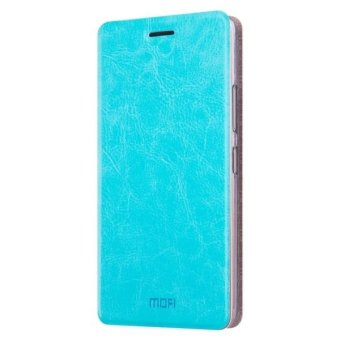 For ASUS ZenFone 3 Zoom / ZE553KL Crazy Horse Texture Horizontal Flip Leather Case with Holder(Blue) - intl