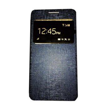 Ume Lenovo S660 Flip Shell / FlipCover / Leather Case / Sarung HP / View - Biru Tua