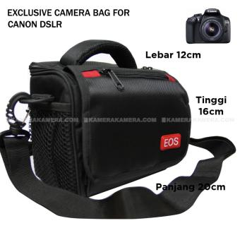 Camera Bag - Zamrud 101 for Canon DSLR, EOS 100D, EOS 700D, EOS 750D, EOS 1200D, EOS 1300D, Etc