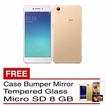Jual Oppo a39 - Gold [3 Gb / 32gb] Free Mmc Tempered Glass Silicon Harga Termurah Rp 5499000.00. Beli Sekarang dan Dapatkan Diskonnya.