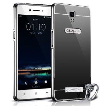 Harga Case Aluminium Bumper Mirror for OPPO Neo 3 R831K Black .
