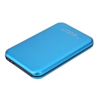 Jual 2.5 Inch Aluminium USB3.0 to SATA External HDD HD Hard Disk Driver (Blue) - intl Harga Termurah Rp 300000.00. Beli Sekarang dan Dapatkan Diskonnya.