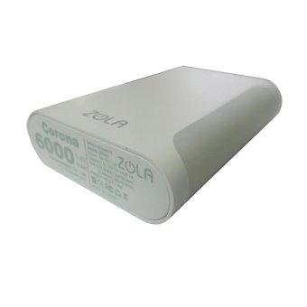 Jual Zola Power Station Corona Powerbank - 6000 mAh - Putih Harga Termurah Rp 240000.00. Beli Sekarang dan Dapatkan Diskonnya.